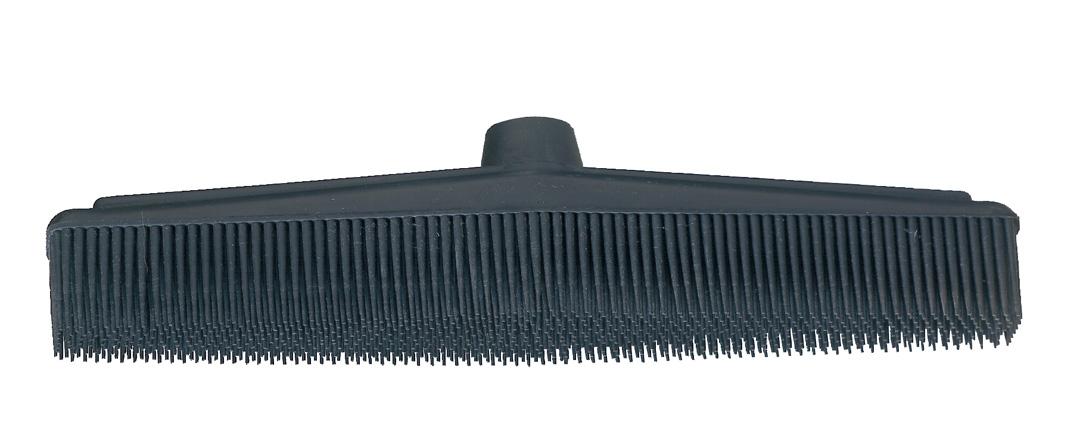 balai en caoutchouc noir fem coiffure mat riel de. Black Bedroom Furniture Sets. Home Design Ideas