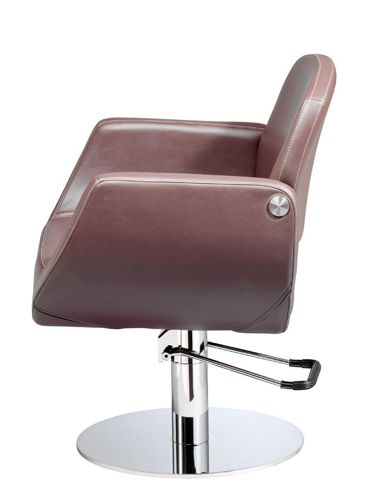 Fauteuil de coiffure zurich marron fem coiffure mat riel de c - Fauteuil de coiffeur ...